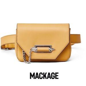 Mackage Ochre Devin Belt Bag NWT